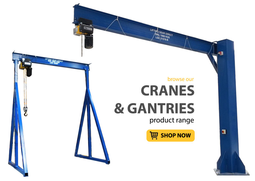 Cranes & Gantries - Lifting Gear Direct