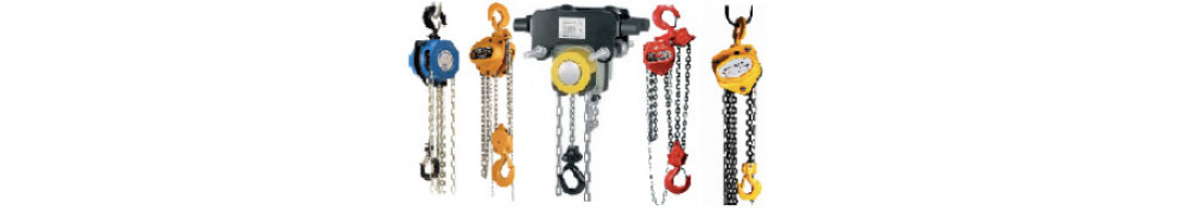 Chain Blocks and Manual Chain Hoists
