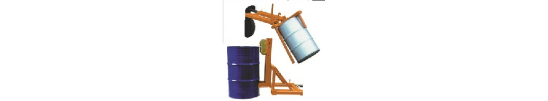 Forklift Mounted Drum Handling