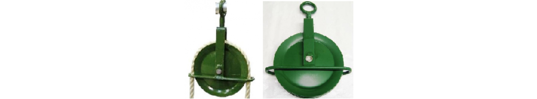 Gin Wheel / Rope Pulley