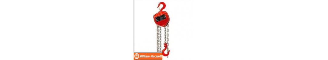 Hacketts Manual Chain Hoists