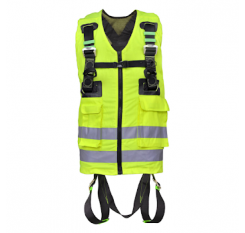 Kratos FA 10 302 00 2 Point High Visibility Full Body Harness (Yellow)