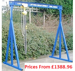 2000kg A-Frame Lifting Gantry