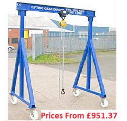 500kg Lifting Gantries