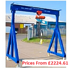 5000kg Mobile Gantry Crane