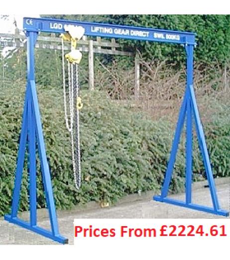 5000kg A-Frame Lifting Gantry