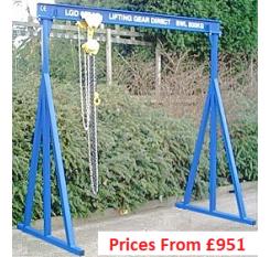 500kg A-Frame Lifting Gantry