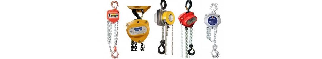 Chain Blocks & Manual Chain Hoists