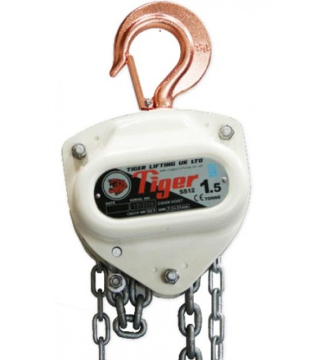 Tiger SS12 Corrosion Resistant Chain Block
