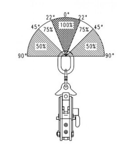 Camlok CX Plate Clamp (hinged)