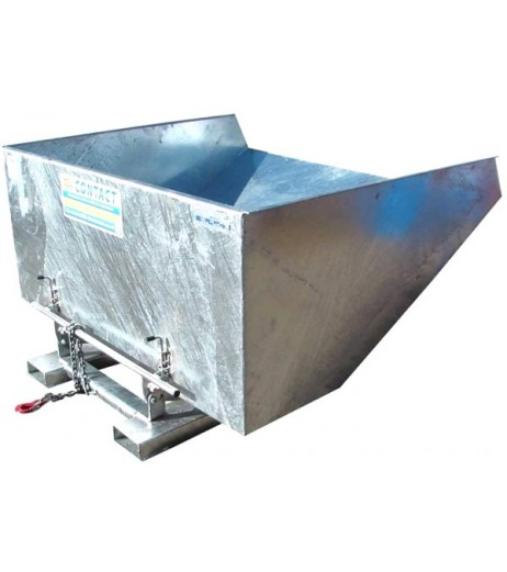 Galvanized Tipping Skips Contact RFS-G