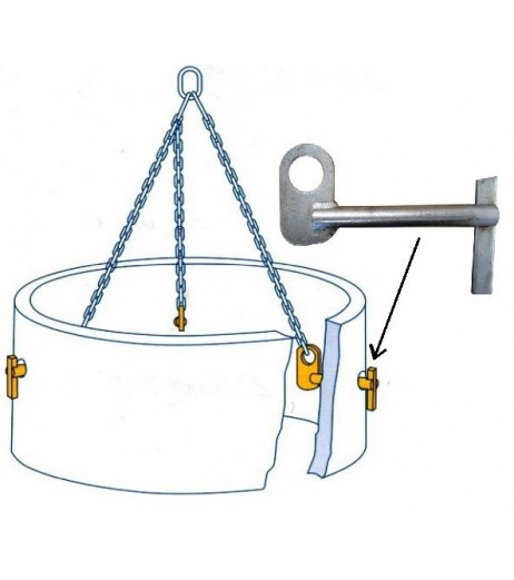 Pipe Lifting Pins - Quick Release