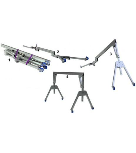 2000KG Aluminium Lifting Gantry