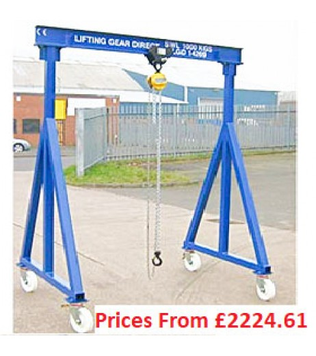 5000kg Lifting Gantries