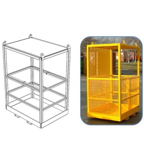 Crane Slung Safety Cage Contact FWP-CS