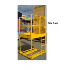 Raised Height Forklift safety Cage - Contact WP