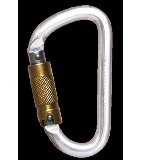 Kratos Steel Triple Action Locking Karabiner FA 50 301 23