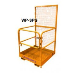 1 Person Forklift Safety Cage Contact WP Series
