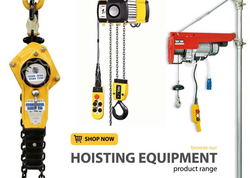 Hoisting Equipment - Lifting Gear Direct