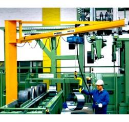 Demag KBK Lightweight Pillar Jib Crane