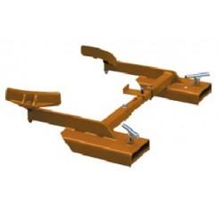 Adjustable Single Poly Drum Grab Raptor DG50