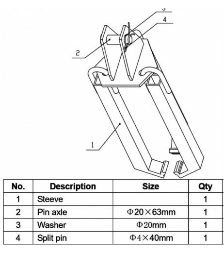 Adjustable Drum Lifter Raptor DL360SP