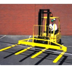 Fork Lift Truck Wide Load Supports - Contact FFA