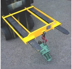 Forklift Hook Attachment with Fixed Reach - Contact FMH
