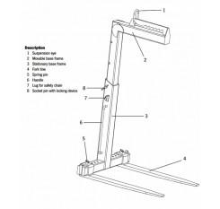 Crane Forks TKG VH - Tigrip