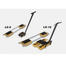 Light Duty Load Moving Skates - Steerman LX