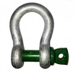 Green Pin Bow Shackle