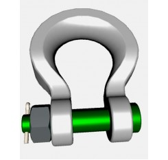 Green Pin Sling Shackles - Bow Type