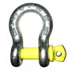 Yellow Pin Alloy Bow Shackles