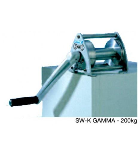Aluminium Hand Winch - Console Mounted