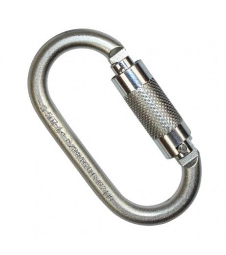 ridgegear RGK2 Steel Twist Lock Karabiner