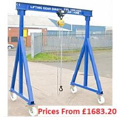 3000kg Lifting gantries