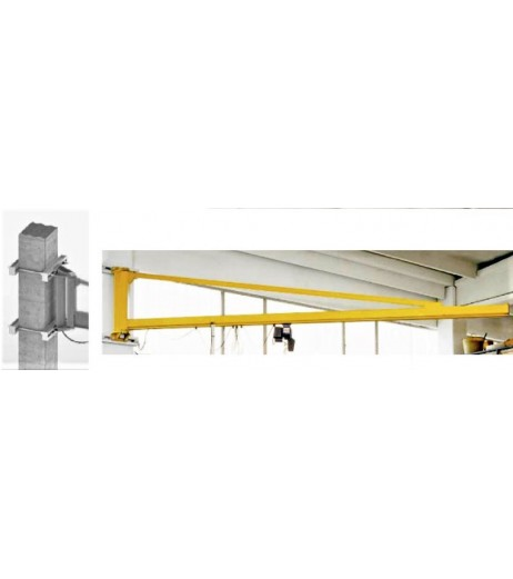 250kg Column Mounted Jib Crane