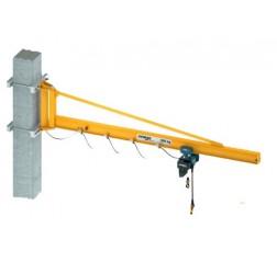 Demag KBK Over Braced Lightweight Wall Mounted Jib Crane
