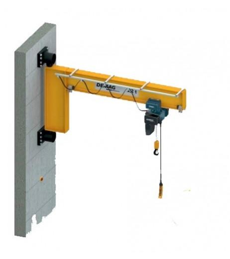 I Beam High Capacity Wall Mounted Jib Crane