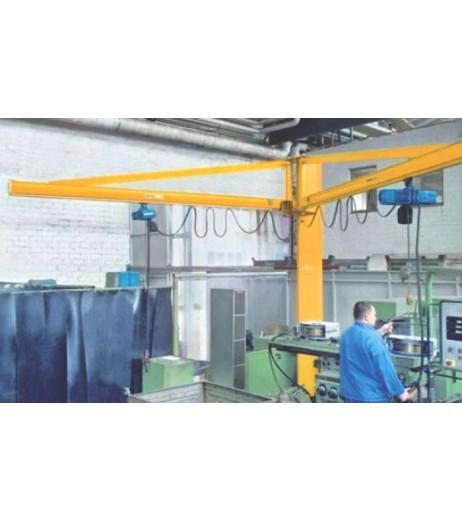 Demag Double Arm Pillar Swing Jib Crane