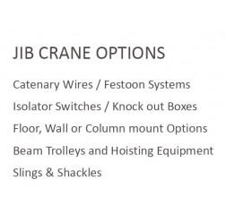 250kg Wall Mounted Jib Crane