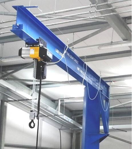 125kg Under Braced Swing Jib Crane