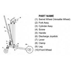 Standard Hydraulic Drum Truck Raptor DT250