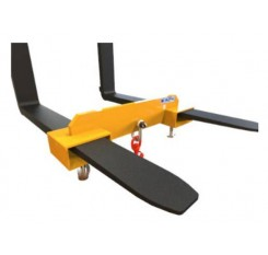 Forklift Hook Attachment with adjustable reach - Contact FMHA