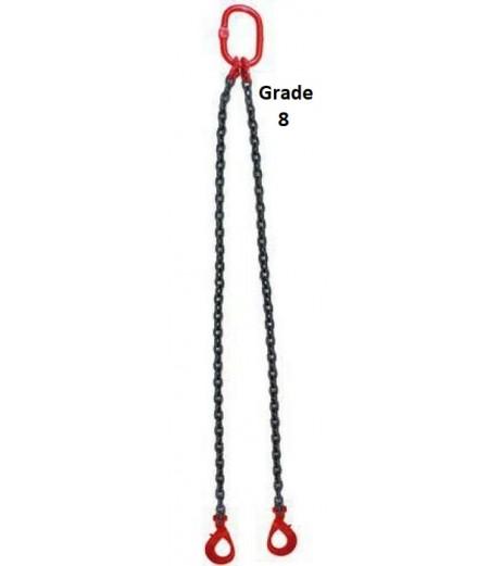 Double Leg chain Sling grade 8