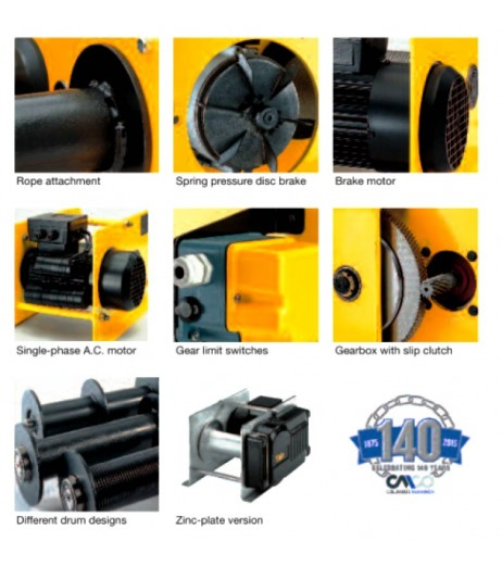 Yale RPE Electric Wire Rope Winch