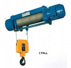 Foot Mounted Wire Rope Hoist - Misia XM