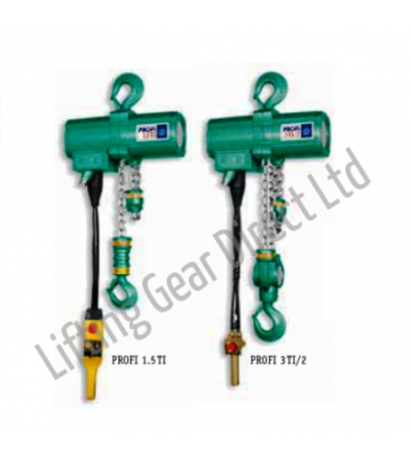 JDN Profi 1.5TI - 3TI/2 Air Hoists