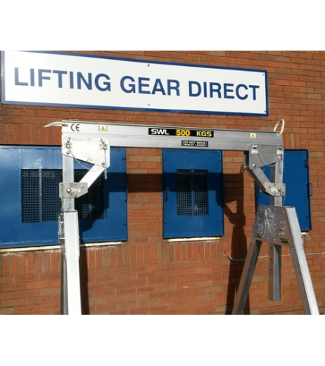 1000kg Aluminium Lifting Gantry