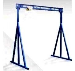 1000KG A Frame Lifting Gantry with 3MTR Under beam x 5MTR Span